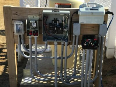 swimming pool electrical work weatherford